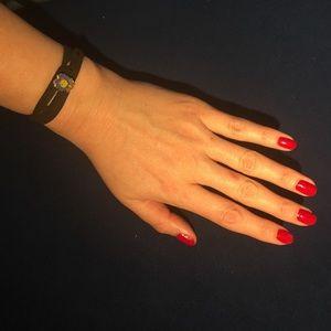 Other - LEO leather wrap bracelet zodiac astrology